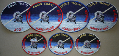 # spp084 Soyuz TMA-11 patch 4